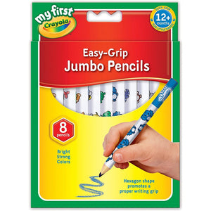 Crayola My First Easy-Grip Jumbo Pencils