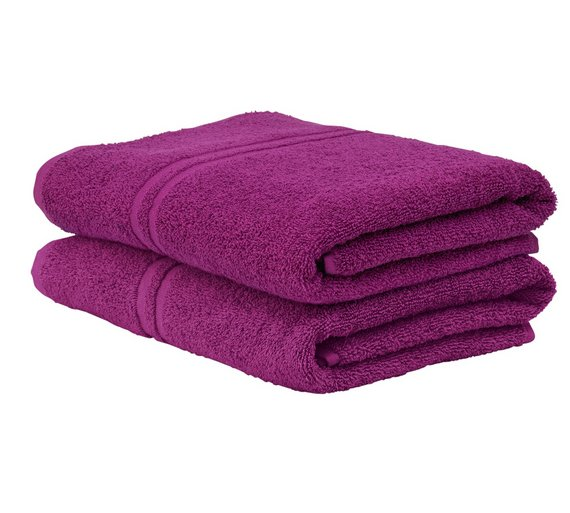 Pair Of Bath Towels