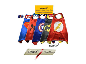 Superheros Cape+Mask Multi Pack