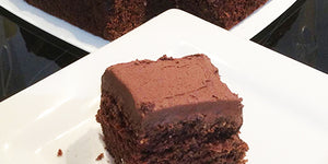 Gluten Free Boiled Chocolate Cake