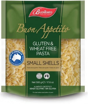 Buontempo Gluten and Wheat Free Small Shells (500g)