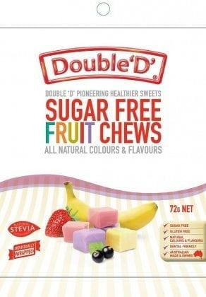 Double D Sugar Free Fruit Chews