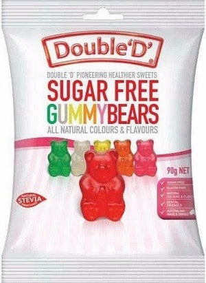 Double D Sugar Free Gummy Bears