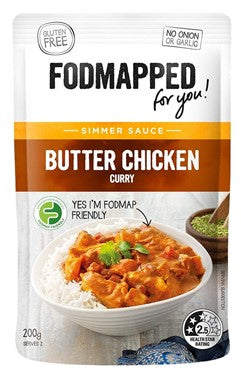 Fodmapped Butter Chicken Curry Simmer Sauce