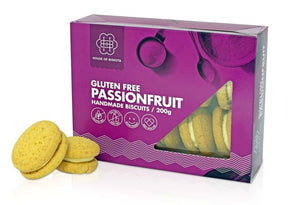 House of Biskota Gluten Free Passionfruit Biscuits