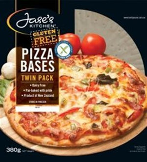 Jase's Kitchen Gluten Free Pizza Bases