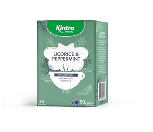 Kintra Foods Licorice and Peppermint Tea