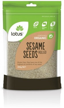 Lotus Organic Sesame Seeds Hulled