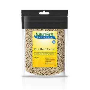 Nature First Rice Bran Cereal (400g)