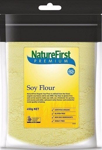 Nature First Organic Soy Flour