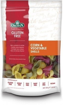 Orgran Corn and Vegetable Shells