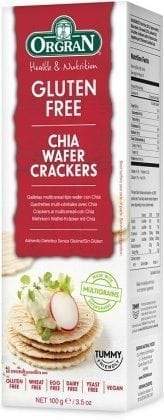 Orgran Multigrain Wafer Crackers with Chia