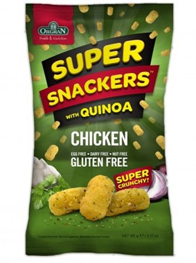 Orgran Super Snacks with Quinoa - Chicken