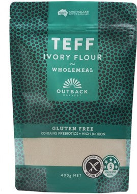 Outback Harvest Ivory Teff Flour - Wholemeal