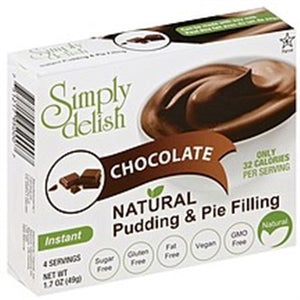 Simply Delish Chocolate Pudding and Pie Filling