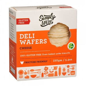 Simply Wize Deli Wafers - Cheese