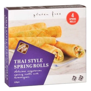 Simply Wize Frozen Thai Style Spring Rolls