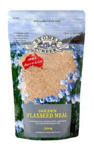 Stoney Creek Golden Flaxseed Meal - 500g