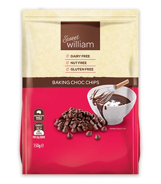 Sweet William Baking Choc Chips