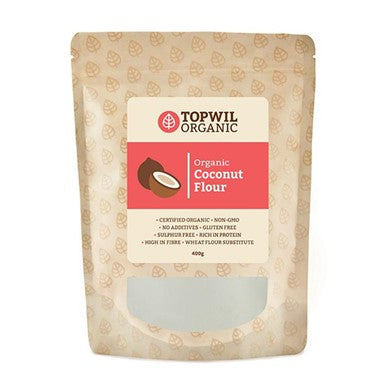 Topwil Organic Coconut Flour (400g)