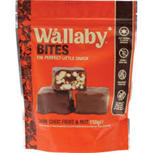 Wallaby Bites - Dark Choc Fruit and Nut