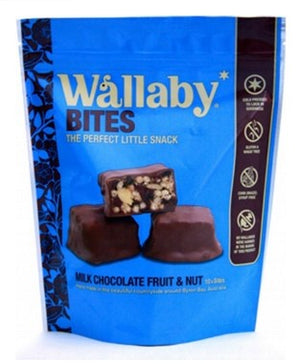 Wallaby Bites - Milk Chocolate Fruit and Nut