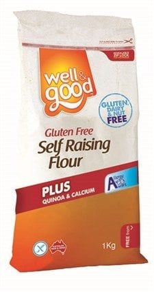 Well & Good Gluten Free Self Raising Flour (1kg)