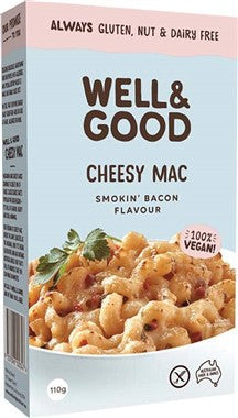 Well and Good Cheesy Mac Smokin Bacon Flavour