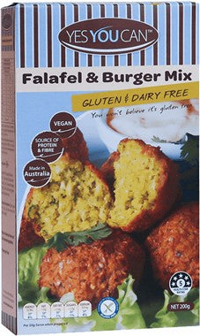 Yes You Can Falafel and Burger Mix