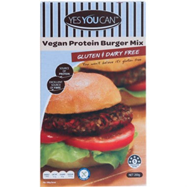 Yes You Can Vegan Protein Burger Mix
