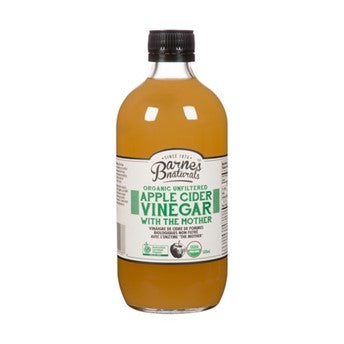 Barnes Naturals Apple Cider Vinegar with the mother