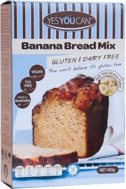 Yes You Can Banana Bread Mix