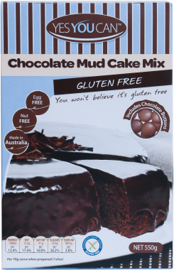 Yes You Can Chocolate Mud Cake