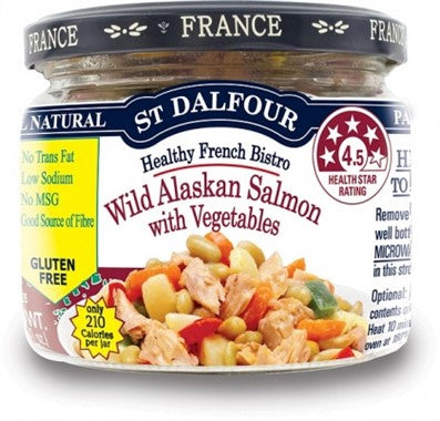 ST Dalfour Wild Alaskan Salmon with Vegetables