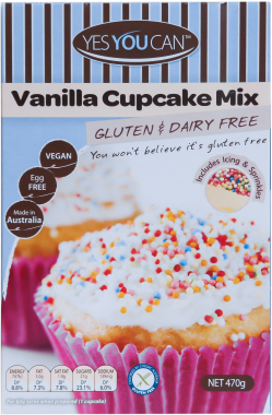Yes You Can Vanilla Cupcake Mix
