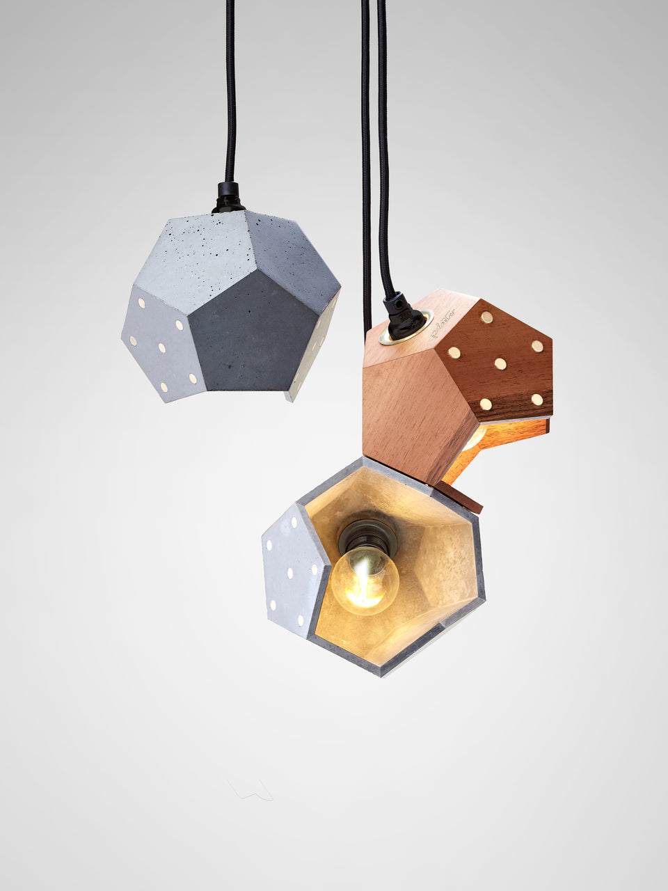 Basic Twelve Trio pendant lamp
