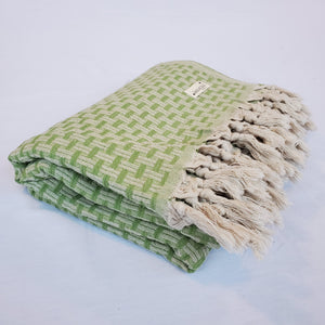 Turkish Throw - Olive