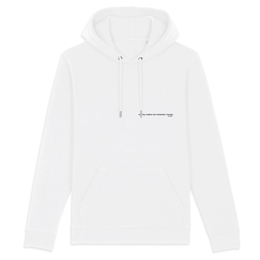 MONEY MAKES ME ROMANTIC hoodie - e-kho
