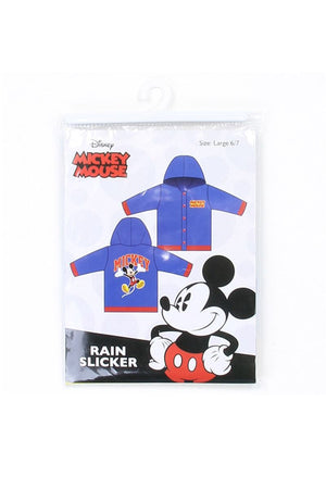 Boys mickey 2-7 rain slicker