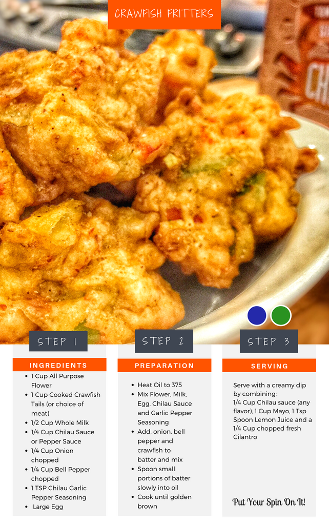 Crawfish Fritters Recipe