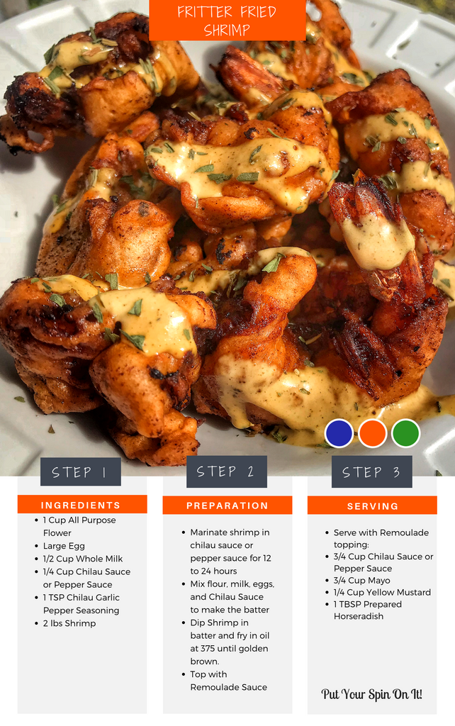 Fritter Fried Shrimp Recipe