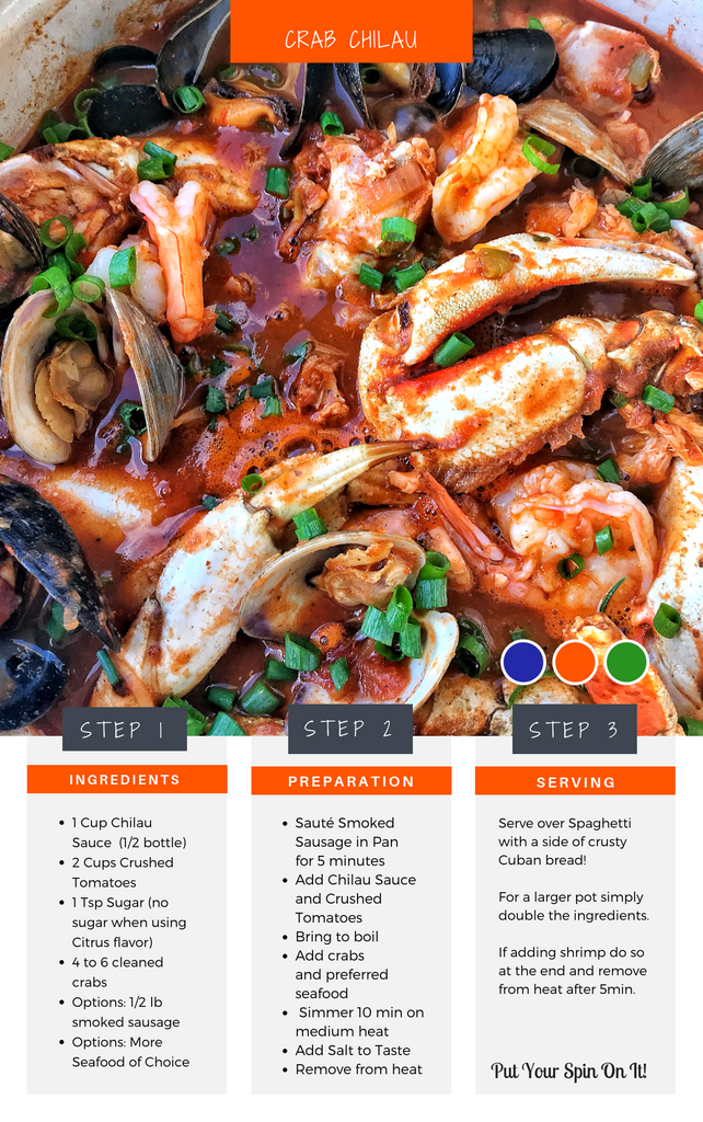 Crab Chilau Seafood Stew Recipe