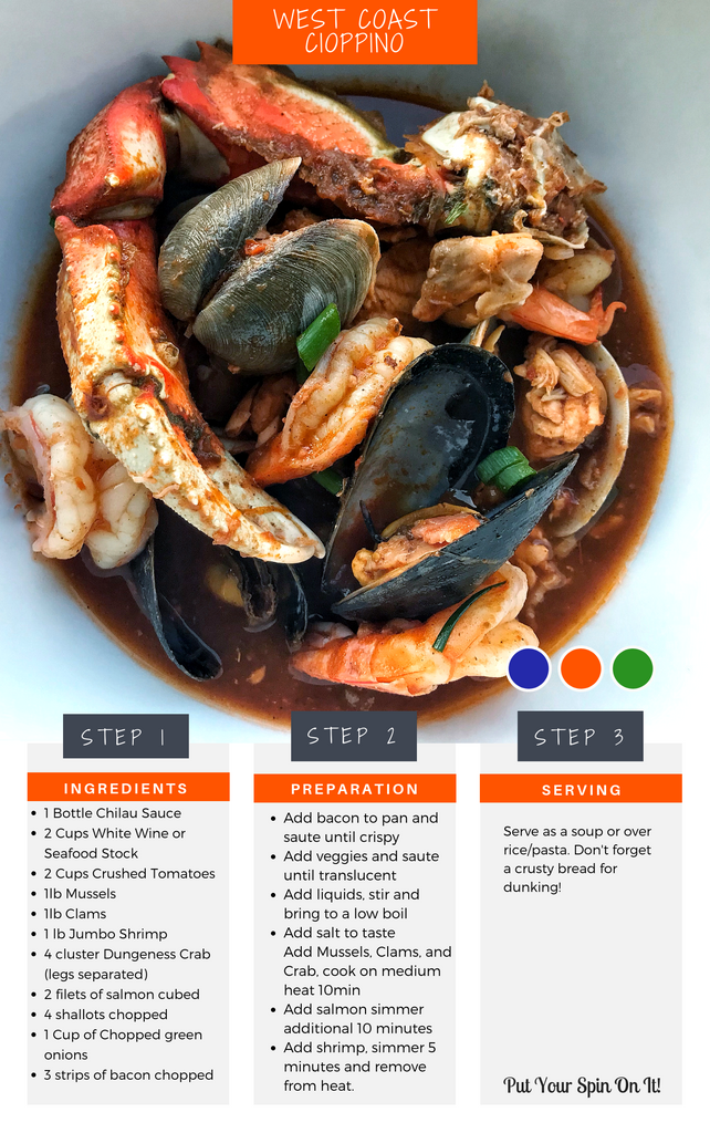 West Coast Cioppino Recipe