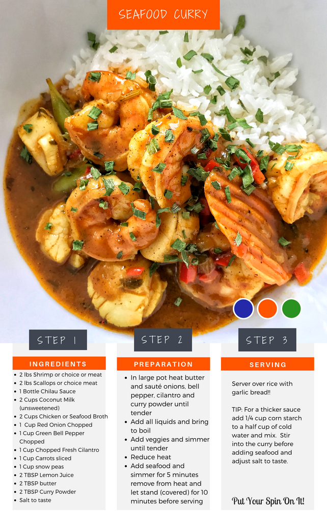 Seafood Curry Recipe
