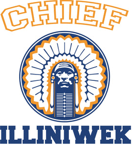 Chief Illiniwek Classic Retro - T-Shirt