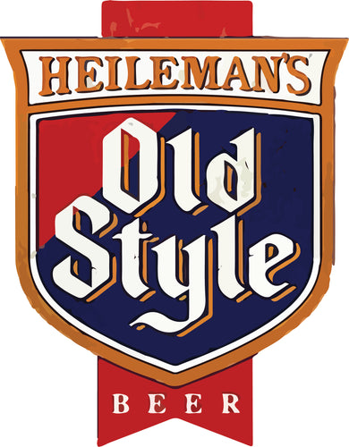 Old Style Beer - Classic Retro - T-Shirt