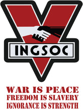 Load image into Gallery viewer, IngSoc Classic Retro Orwell 1984 - T-Shirt