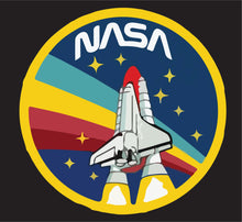 Load image into Gallery viewer, Vintage NASA Retro - T-Shirt