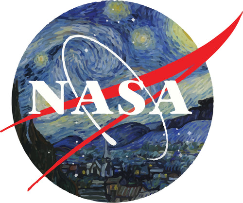 NASA Starry Night - T-Shirt