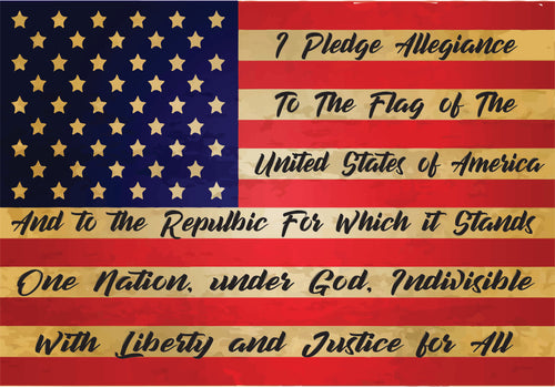 Pledge of Allegiance - T-Shirt